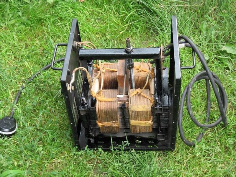 Схема аппарат для точечной сварки