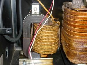 На фото - обмотки трансформатора для контактной сварки, goodsvarka.ru