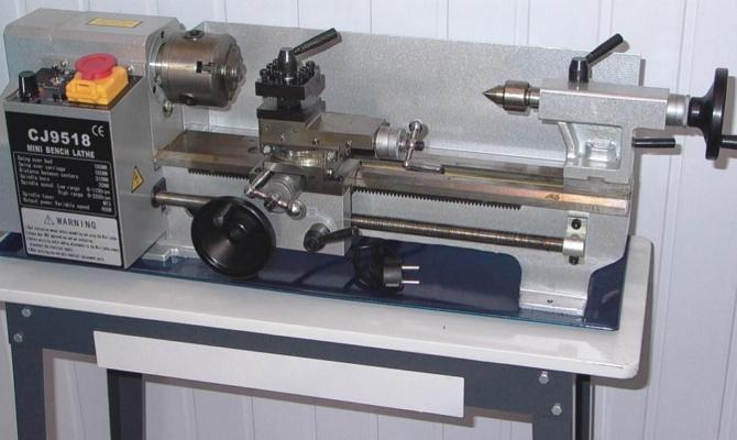 Настольные токарные агрегаты – их особенности и достоинства