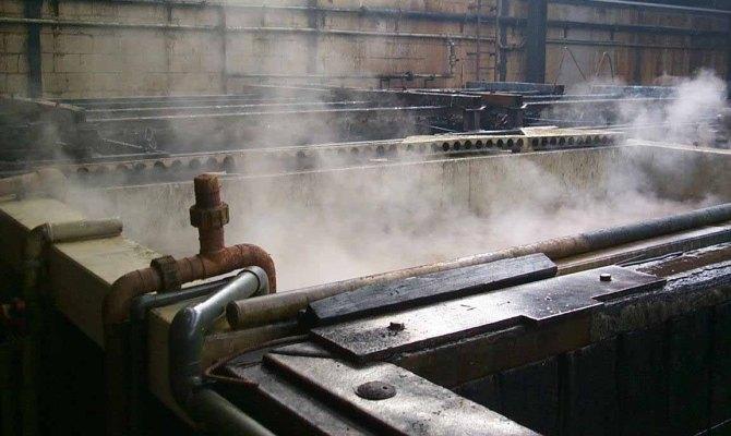 Цинкование стальной проволоки