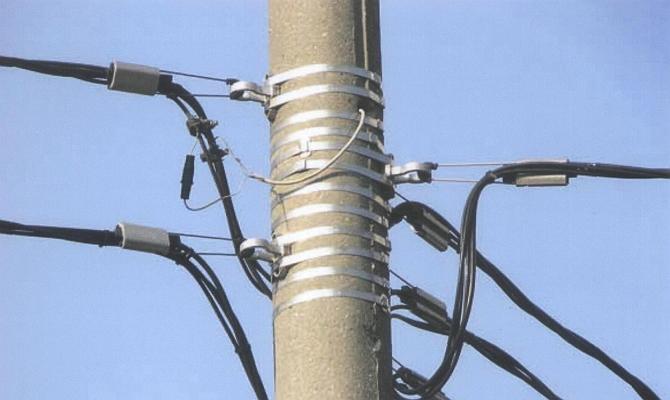 Использование изолированных самонесущих кабелей