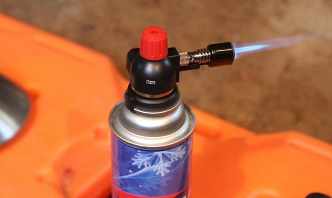 Фото газового цангового аппарата для резки металла