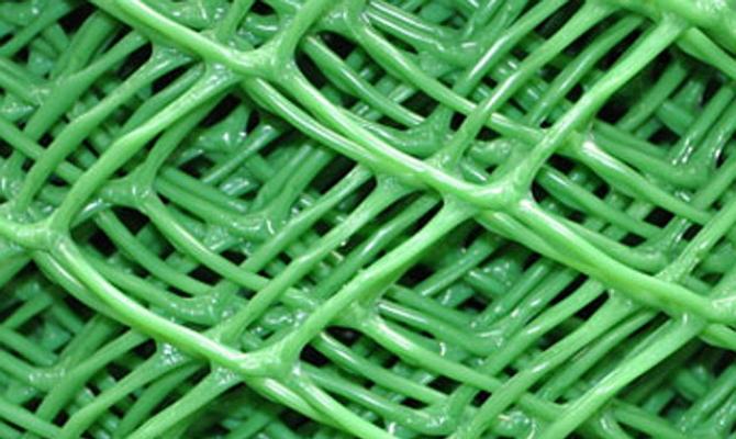 Сварная сетка с полимерным покрытием