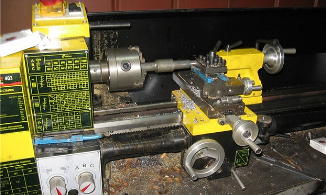 Энкор Корвет 403 для точения и нарезания резьбы