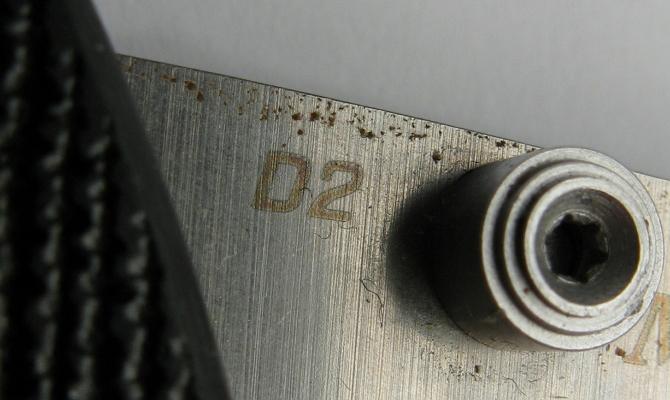 Коррозия на поверхности детали