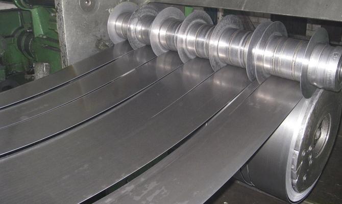 Производство штрипса из стальных листов