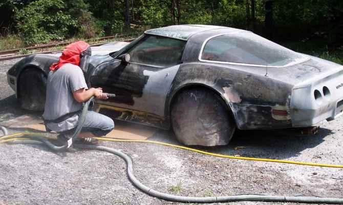 Применение абразивной обработки для автомобилей