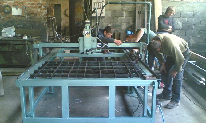 Координатные рабочие поверхности – полная автоматизация процесса фрезерования фото