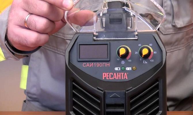 Индикатор перегрева механизма инвертора