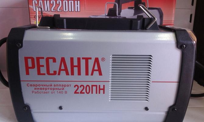 Автоматический сварочный инвертор