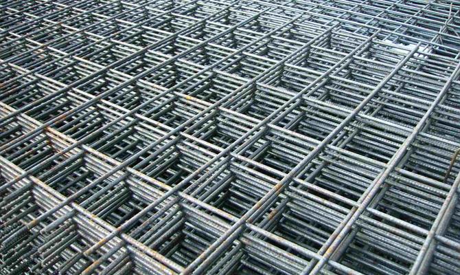 Арматурная сетка для строительных работ