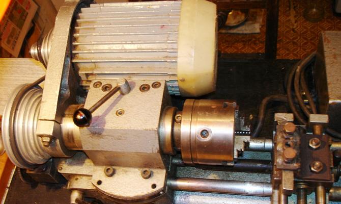 Устройство мини-установки для токарных работ