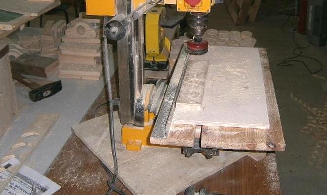 Обработка однородных изделий из древесины