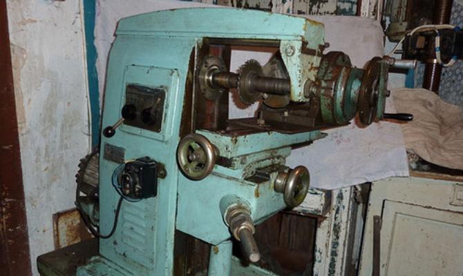 Узлы фрезерного агрегата НГФ-110Ш