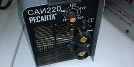 Ресанта САИ-220 – качественная сварка на пределе мощности бытовой сети