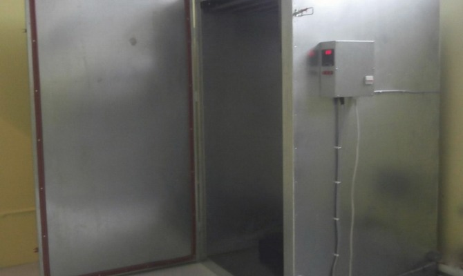 Печь для термохимической металлизации