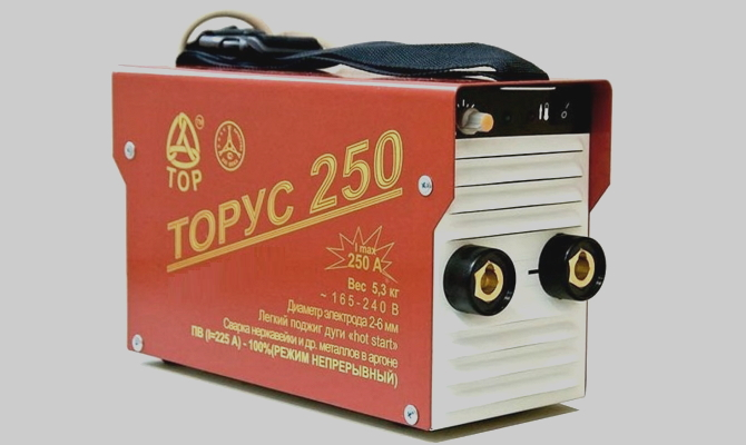 Инвертор Topyc-250 для ручной и аргонодуговой сварки