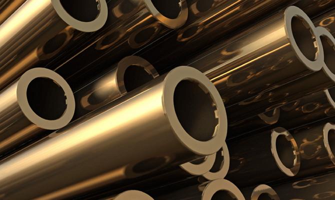 Трубы из алюминиевой бронзы