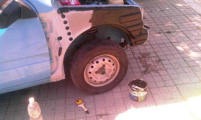 Чем обработать автомобиль от коррозии - технология защиты кузова от ржавчины Видео