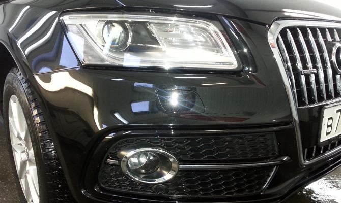 Оформление деталей кузова машины хромом