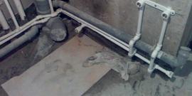 Уклон канализационной трубы – должен строго соблюдаться!