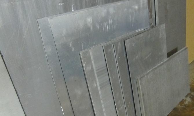 Алюминиевый лист – разновидности и особенности