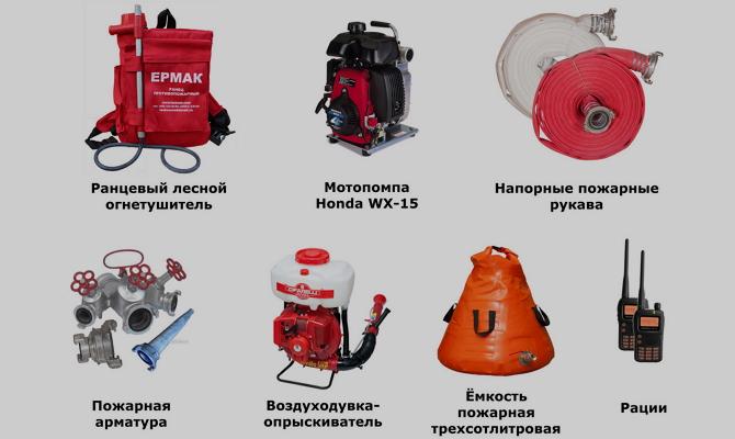 Противопожарная арматура – комплекс рукавов и других элементов