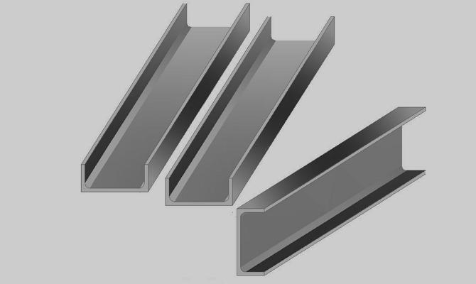 Сравнение некоторых типоразмеров швеллеров и двутавров