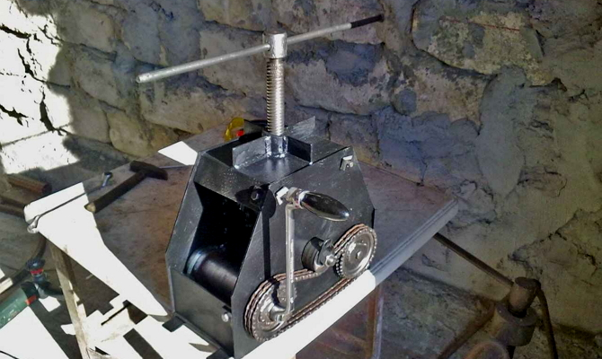 Как создать инструмент механического типа?