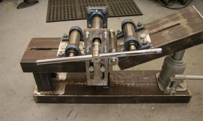 Как сделать самый простой трубогиб – доски и уголки