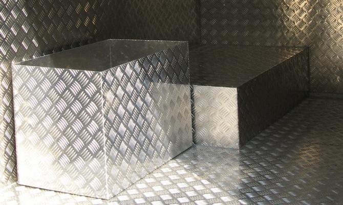 Основные характеристики алюминиевых рифленых листов