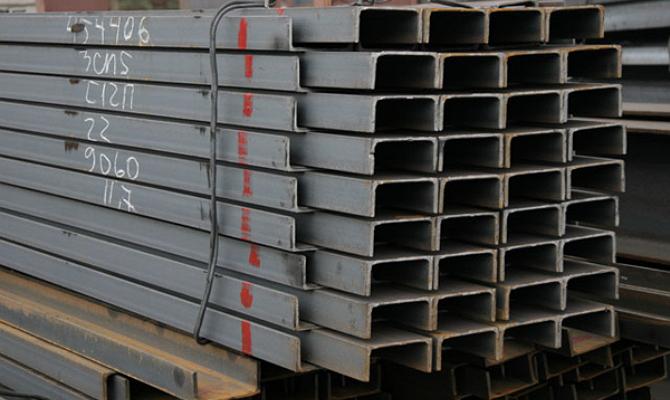 Параметры алюминиевых профилей, имеющих швеллерное сечение