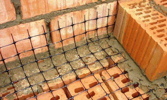 Кладочная сетка для газобетона и бетона