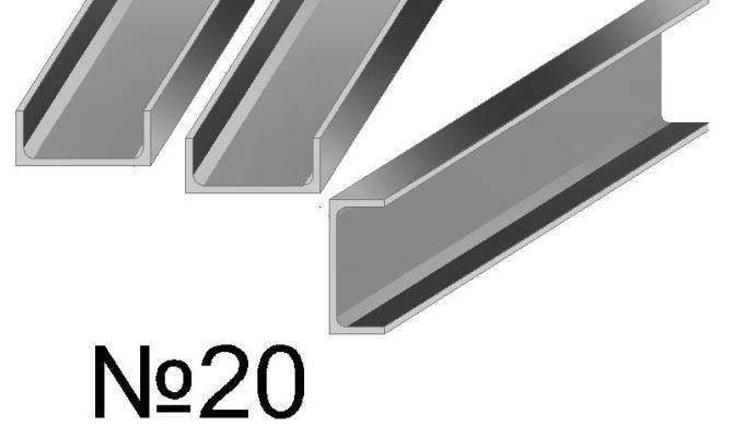 Каковы особенности и типы горячекатаных швеллеров с профилем 20