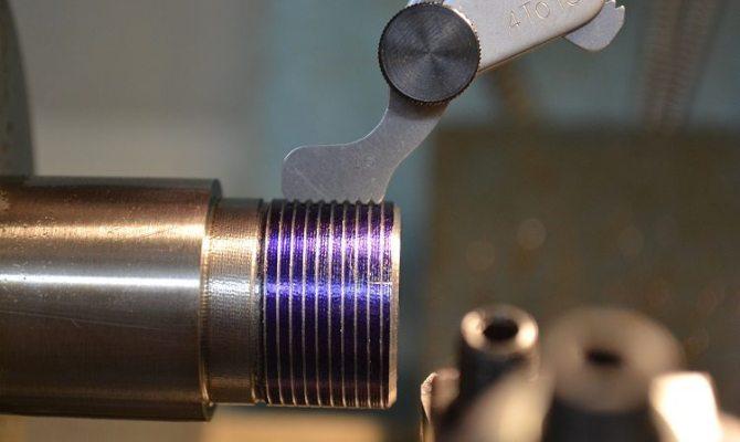 Нарезание дюймовой резьбы – инструменты и технология