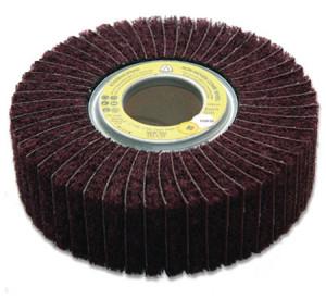 На фото - шлифовальный круг лепестковый, abrasiv.biz