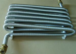 На фото - нержавеющая гофрированная труба для отопления, otoplenie-gid.ru