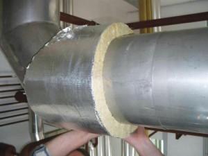 Фото утепления трубы минеральной ватой, vse-o-trubah.ru