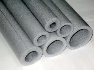 На фото - вспененный полиэтилен для теплоизоляции труб, slando.ua