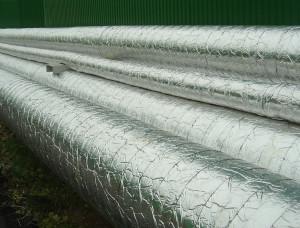 Фото теплоизоляции труб традиционным способом, vsetrybu.ru