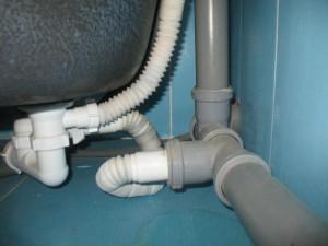 Фото канализационных труб в помещении, canalizator-pro.ru