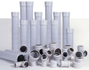 Фото пластиковых канализационных труб, kanalizaciyainfo.ru