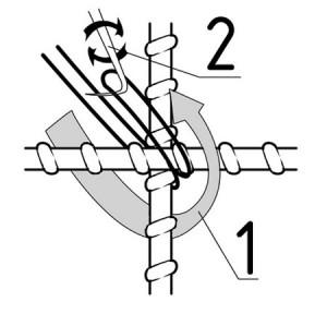 Способы, как связать арматуру для фундамента