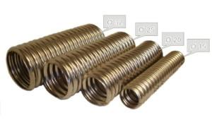 Фото гофрированных труб из нержавеющей стали, stek-group.com