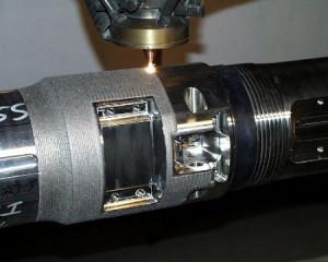 Фото ремонта металлической детали лазерной наплавкой, plackart.com
