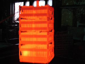 На фото - цементация стали, termoobrabotka.net
