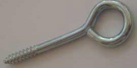 Шуруп-кольцо – надежное крепление подвесных конструкций