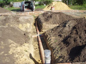 Глубина заложения канализационных труб – СНиП 2.04.03–85 фото