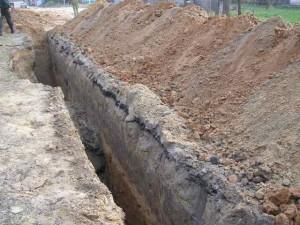 Минимальная глубина залегания канализационных труб фото