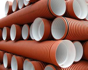 На фото - полимерные канализационные трубы, truba.ua